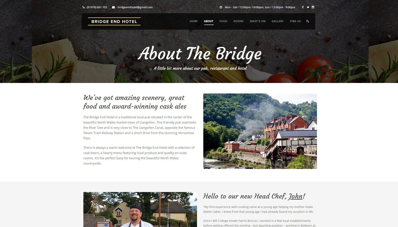 bridge end hotel about us