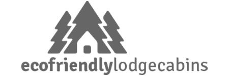 Eco Friendly Lodge Cabins Logo. A business based in Oswestry.