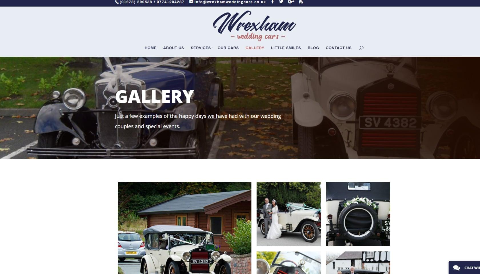 wrexham wedding cars gallery page